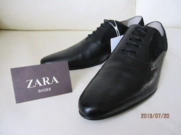 □ZARA/ザラ ドレスシューズ ビジネス/メンズ27.5cm☆新品