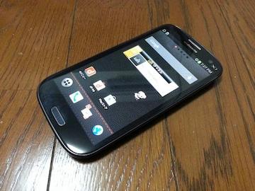 特価品!!美中古品 SC-03E Galaxy S3 α ブラック LTE Xi