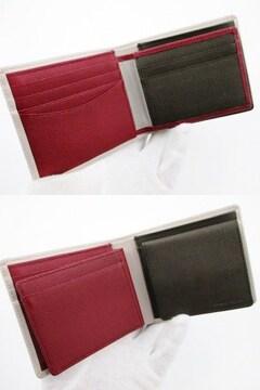残り僅か☆新品 ポールスミス 折り財布 カラーブロック トープ