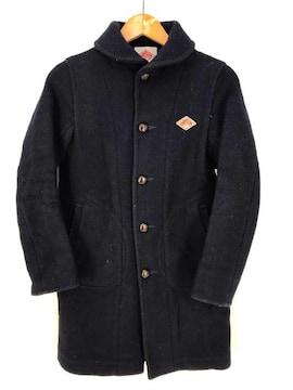 DANTON(ダントン)胡桃ボタン ウールコートコート