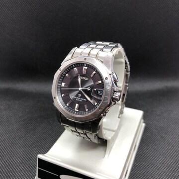 即決 SEIKO セイコー SOLAR 腕時計 7B22-0AC0