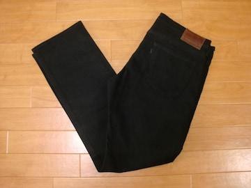 リーバイス メイド&クラフテッド デニムパンツ 黒 W32