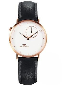 高級 薄い 時計 レディース 人気 白黒