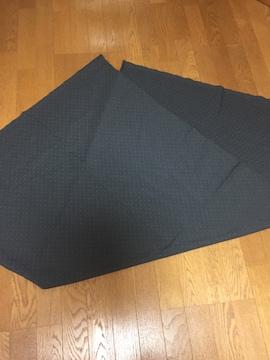 541.布☆ドット柄  濃いグレーに薄いグレー☆水玉