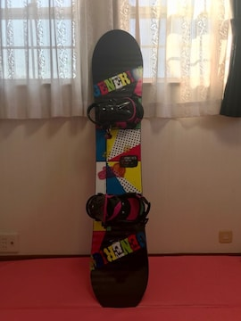 GENERICS   140   女の子用スノーボード超美品♪