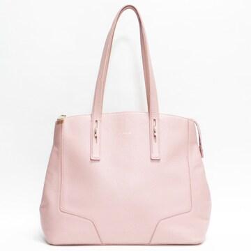 FURLAフルラ トートバッグ レザー ピンク 良品 正規品