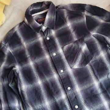 【値下げ不可】men's  極美品!! チェックシャツ  M