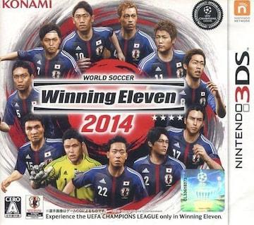 Nintendo3DSソフト☆ワールドサッカー ウイニングイレブン2014