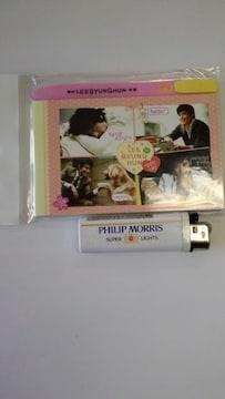 新品未使用☆イ・ビョンホン☆ペン付メモ帳大幅値下げ