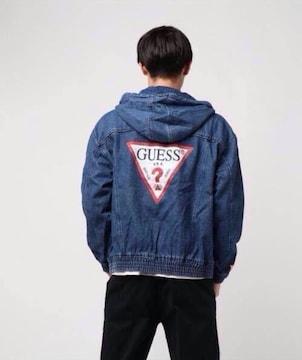 新品タグGUESS日本限定/デニムジーンズジャケットアウタートップ