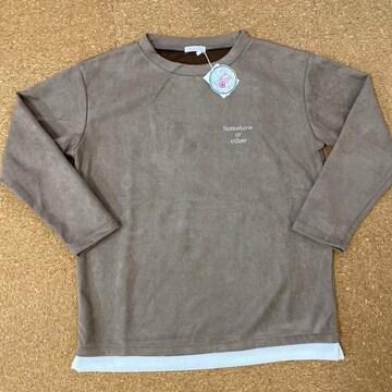 新品タグ付き150厚手ロンT 薄手トレーナー ビックシャツ.14