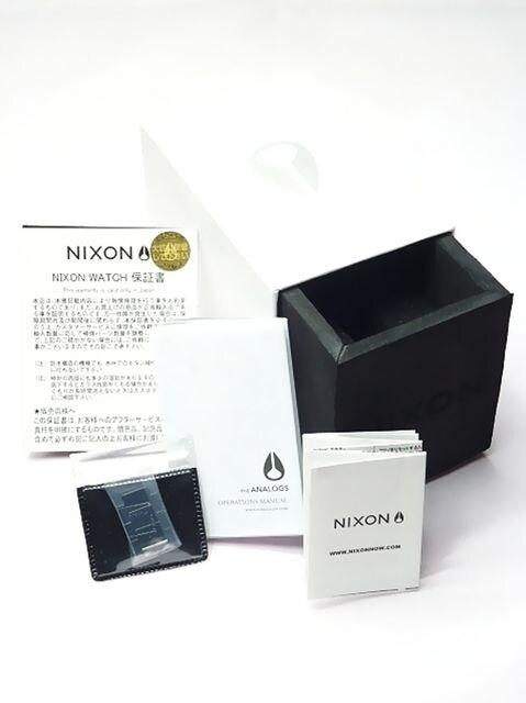 新品正規NIXON51-30HIGH POLISH BLACK2年保証 < ブランドの
