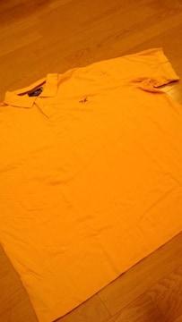 アメリカンリビンゲRALPH LAUREN 半袖ポロ 黄色 サイズXXL→3XL