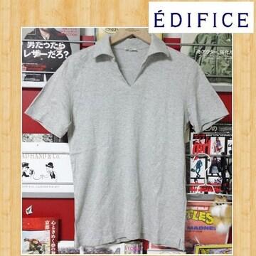 EDIFICE エディフィス コットンポロシャツ M 美品 ベイクルーズ 日本製