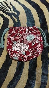 和柄 ハンドメイド 巾着袋
