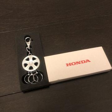 新品 HONDA ホンダ アルミホイールキーホルダー キーリング