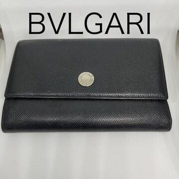 【美品】BVLGARI★三つ折財布