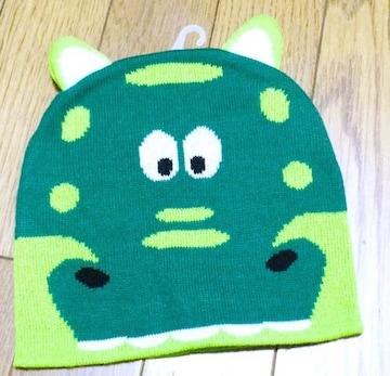 ンポートニット帽子ワニさん  2歳〜4歳