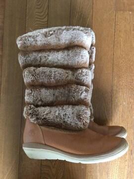 Timberland ファー ボア ブーツ 24cm 8M