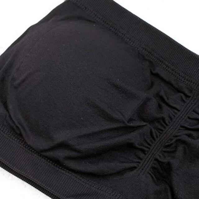 f014■チューブブラトップ 背中セクシー#ブラック < 女性ファッションの