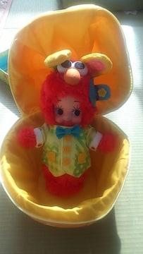〓キューピー懸賞当選品〓イースターバニー・エルモコスチュームキューピー人形〓