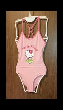 F3042 スポーツウェア/SANRIO Kitty swim wear ワンピ水着