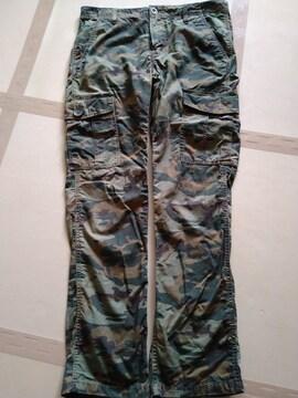 迷彩 ウエスト32 L32 美品 Levls