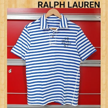 RALPH LAUREN ラルフローレン ボーダーポロシャツ M ユニセックス