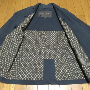 正規品 ルイヴィトン×マッキントッシュ 女性用コート 濃灰 36