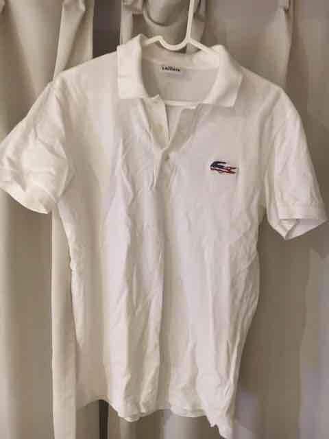 LACOSTE ラコステ ポロシャツ 3 アメリカ柄  < ブランドの