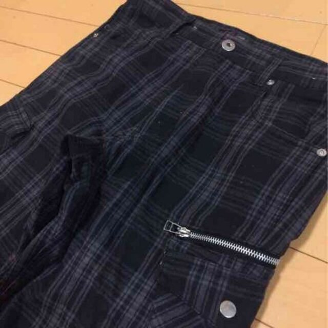 チェック柄◆カジュアルパンツ◆W79 < 男性ファッションの