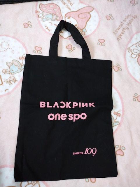 one spo☆BLACK PINKコラボトートバッグ  < ブランドの