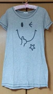 ロング丈*Tシャツ