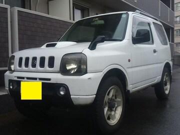 JB23W ジムニー白 4WD オートマ