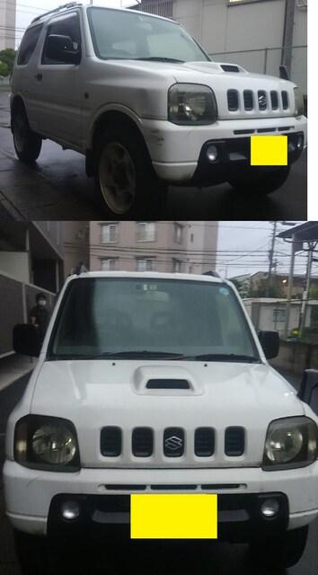 JB23W ジムニー白 4WD オートマ < 自動車/バイク