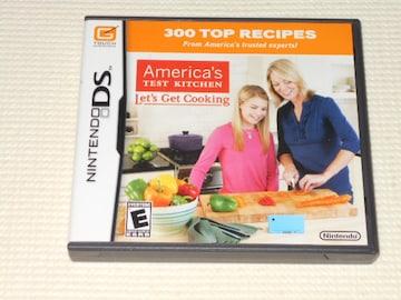 DS★America's TEST KITCHEN Let's Get Cooking 海外版