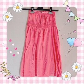 ZARA ワンピース ピンク