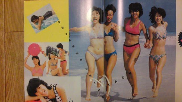 おニャン子クラブ 水着 写真集 [あぶな〜い おニャン子」  < タレントグッズの