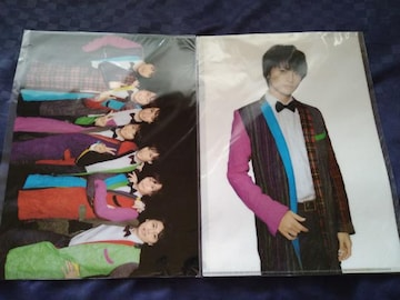 Kis-My-Ft2☆Kis-My-WORLD☆クリアファイル集合&玉森セット☆