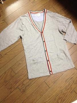 美品TK MIXPICE 7分丈コットンカーデ タケオキクチ