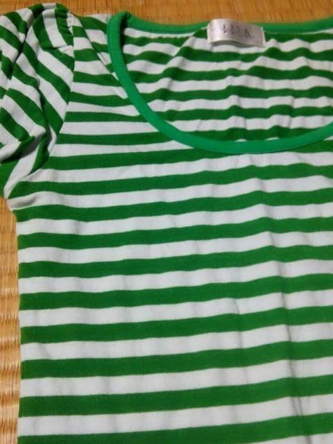 ☆パフスリーブボーダーTシャツ☆ < 女性ファッションの