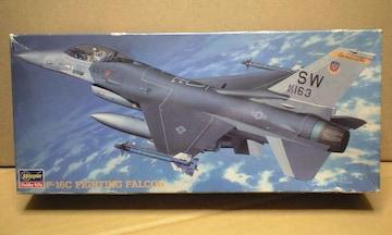 1/72 ハセガワ アメリカ空軍 F-16C ファイテング ファルコン