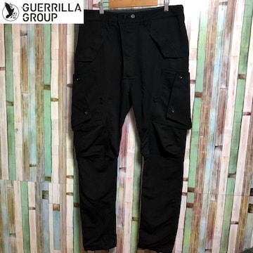 GUERRILLA-GROUP 18S-ES-PL02 BL カーゴパンツ