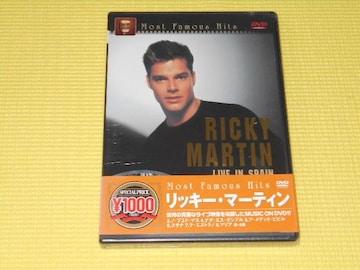 DVD★RICKY MARTIN LIVE IN SPAIN