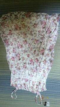 リズリサ花柄キャミワンピ美品
