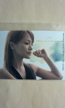 娘。誕生10年記念 ジヤケット写真・トレカサイズ1枚/中澤裕子