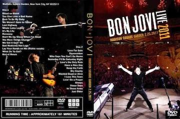 BON JOVI Madison Square Garden N.Y 2.25.2011 ボンジョヴィ
