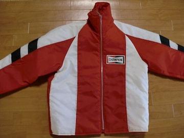 ヴィンテージ チャンピオンプラグ レーシングジャケット M