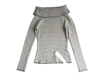 新品 定価3900円 ヘザー Heather オフタートル  ニット セーター