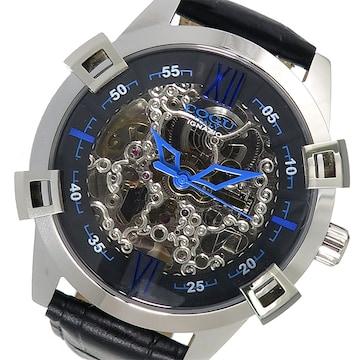 コグ フルスケルトン 自動巻き 腕時計 SKN2-BL